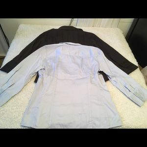 Banana Republic NY & Co blouse bundle Sz M